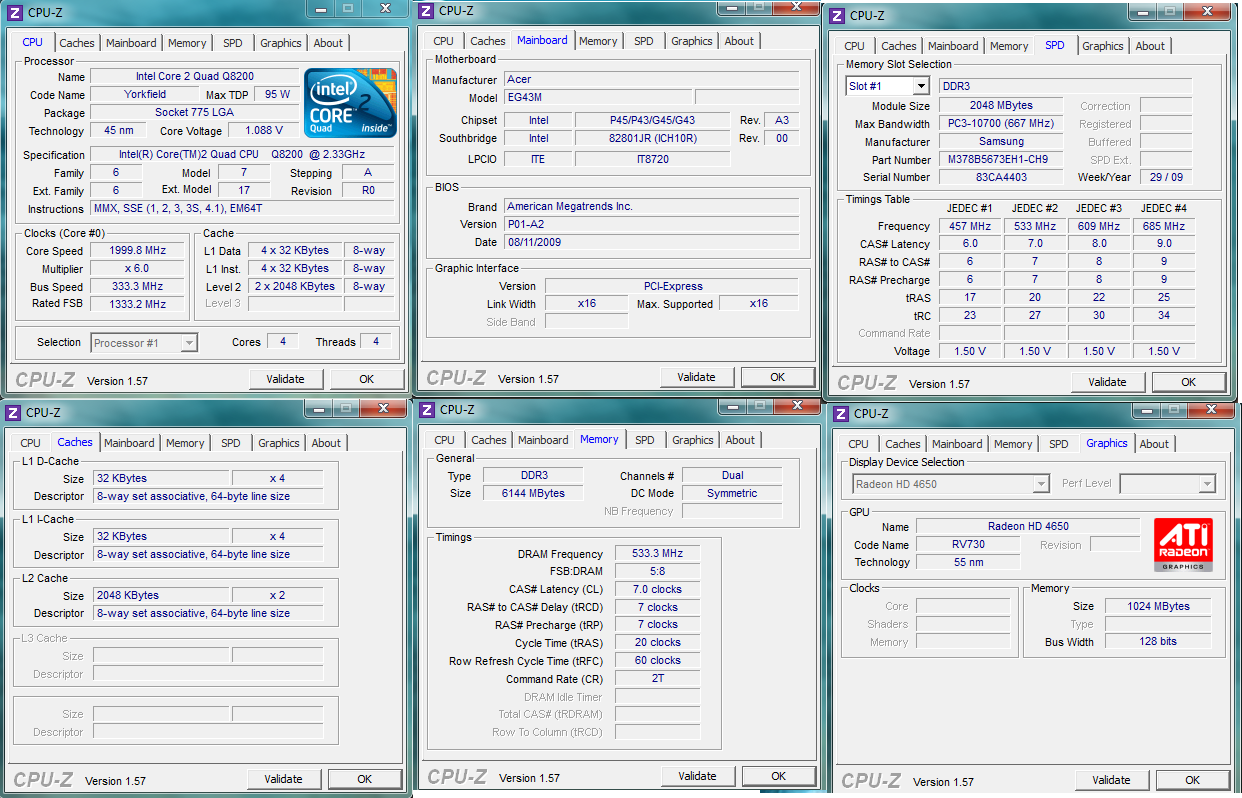 نسخه 1.91 نرم افزار CPU-Z